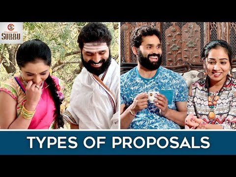 Types Of LOVE Proposals | Latest Telugu Comedy Videos 2018 | How to Propose ? | Chandragiri Subbu