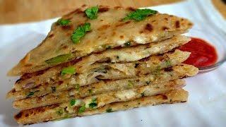 Cheesy Aloo Paratha Recipe - Kid