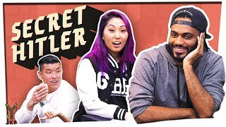 Throwing Shade & Being Salty | Secret Hitler ft. Mari & Steve Greene