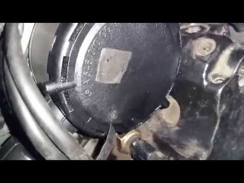 Масляный сепаратор/сапун/клапан картерных газов W211