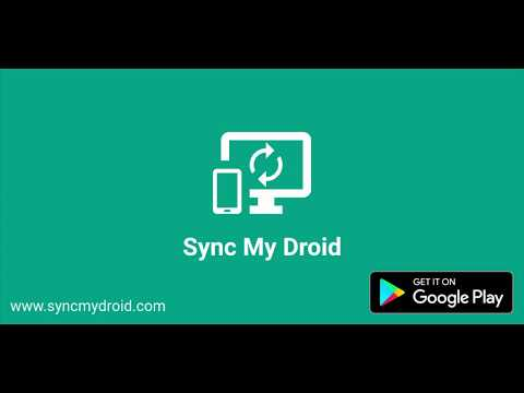 SyncMyDroid Free - For Pc - Download For Windows 7,10 and Mac