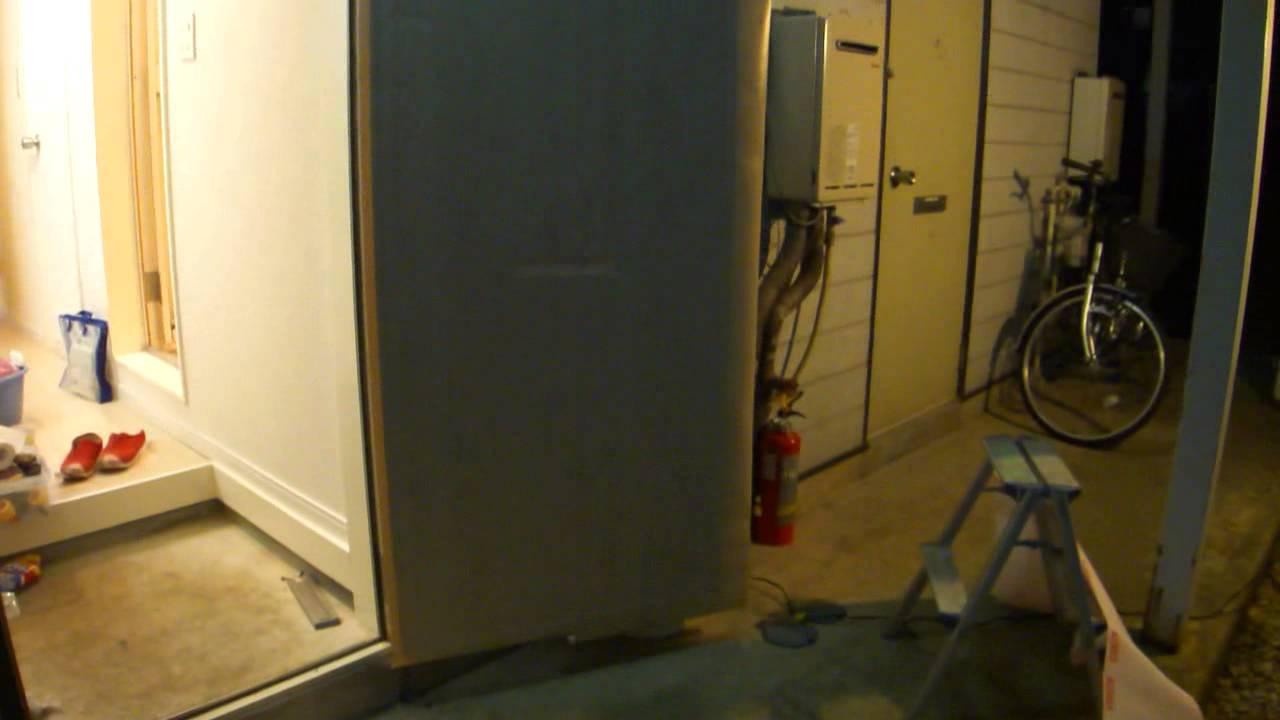 カッティングシート貼り 玄関ドア Youtube