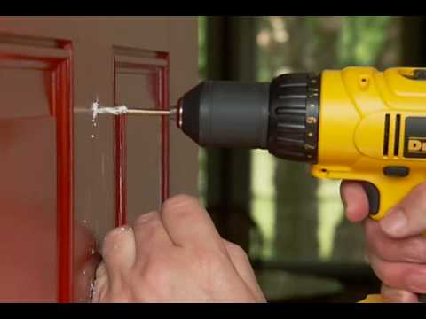 Etonnant How To Install A Door Viewer   YouTube