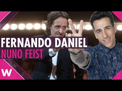 Interview: Fernando Daniel and Nuno Feist (Festival da Canção 2017)