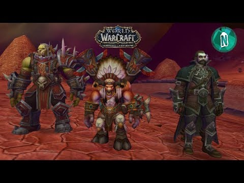 New Models Saurfang,Nathanos Blightcaller,Baine Bloodhoof to Battle for Azeroth in patch 7.3.5