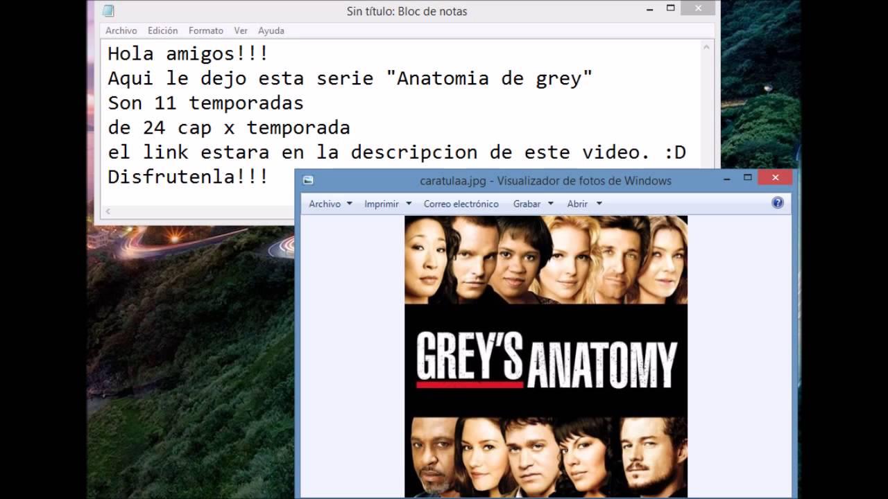 Anatomia De Grey En Audio Latino Online 2015 - YouTube