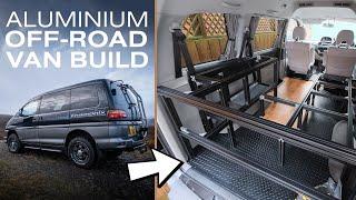 Small Off-Road Camper Van Conversion Using Aluminium