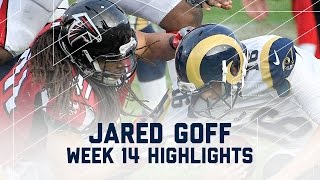 Jared Goff Struggles Against Falcons! | NFL Week 14 Player Highlights
