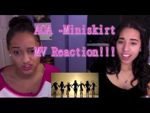 AOA - 짧은 치마 (Miniskirt) MV Reaction!!!
