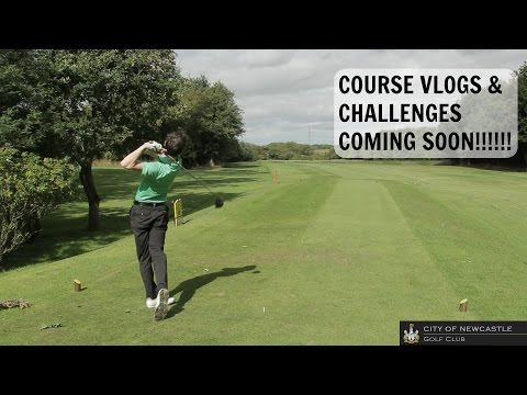 City of Newcastle Golf Club - Course Vlog Trailer!