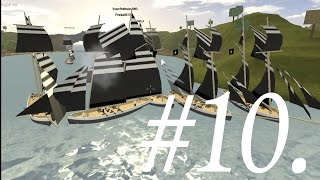 [ROBLOX] Tradelands - Fun Times Pt. 10 - Largest Tradelands Naval Battle - Ever.