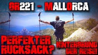 PERFEKTER TREKKING RUCKSACK - GR221 Mallorca - Trekking Outdoor Wandern Bushcraft Survival