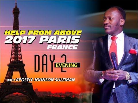 Help From Above PARIS, Day 2 Evening Session - Apostle Johnson Suleman (En Français)
