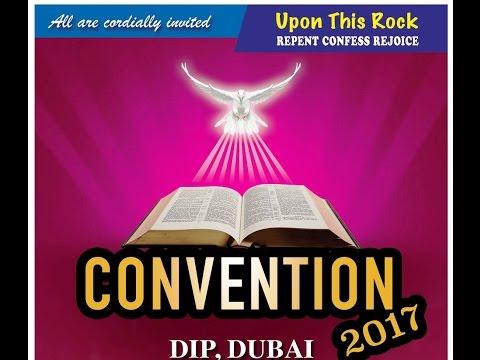 CONVENTION 2017 Pr. P C CHERIAN DAY 1