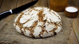 Рецепт финского ржаного хлеба на закваске Печем хлеб из ржаной муки и домашней ржаной закваски