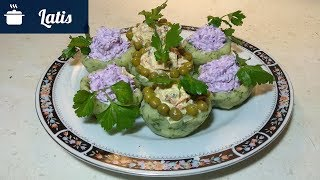 Красивый и вкусный салат Бланк Кокош!