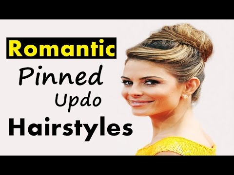 romantic-pinned-updo-hairstyles