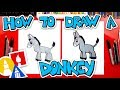 How To Draw A Donkey - Nativity
