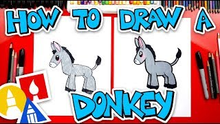 How To Draw A Donkey - Nativity