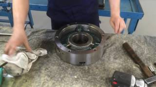 MACHINE SHOP MAINTENANCE: How to Grease a BISON Lathe Chuck Part 2