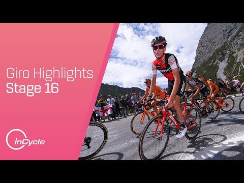 Giro d'Italia: Stage 16 - Highlights