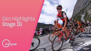 Giro d'Italia 2017 | Stage 16 Highlights | inCycle
