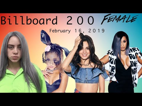 Billboard 200 February 16, 2019 / FEMALE Mp3