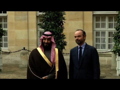 French PM meets with Saudi Arabia's crown prince