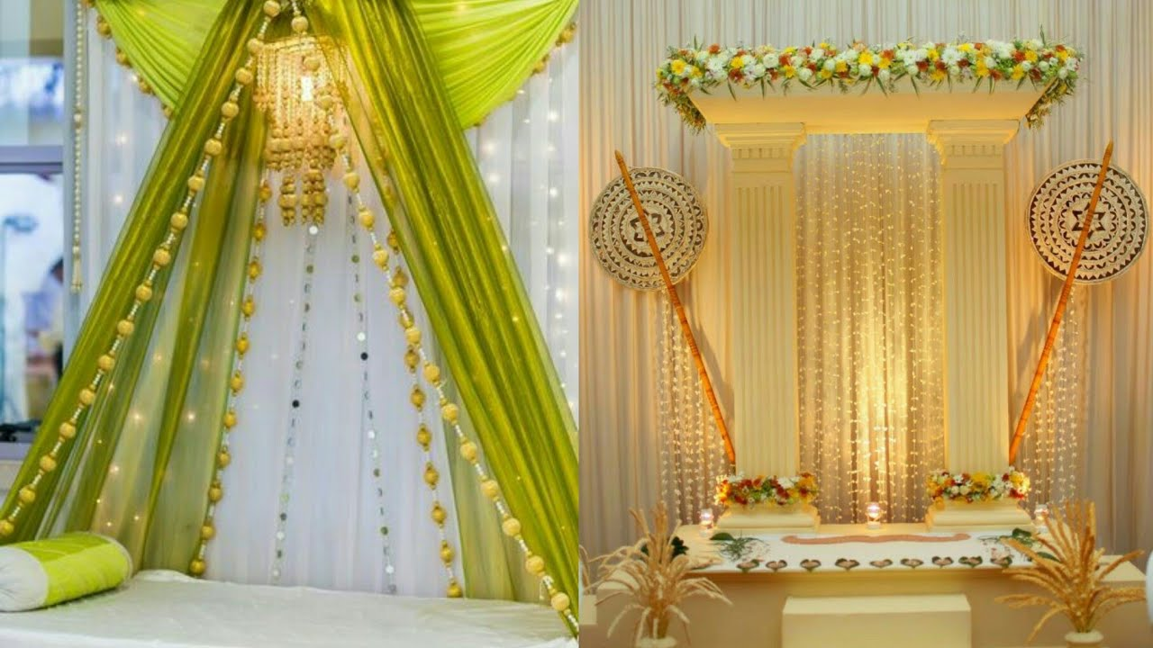 Ganpati Decoration Ideas Part 2 || Ganesh Chaturti ...