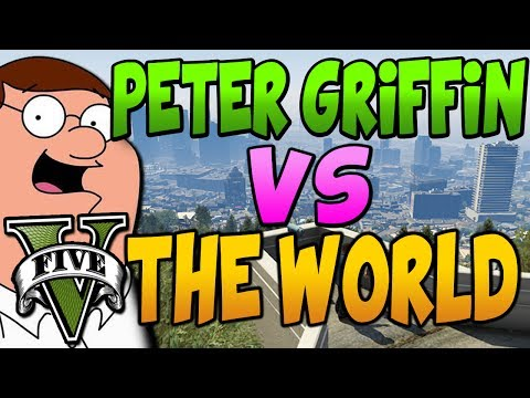 PETER GRIFFIN PLAYS GTA V ONLINE | MAKING FRIENDS ON XBOX LIVE