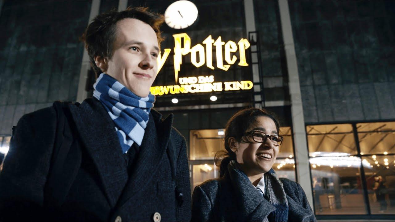 Erste Vorauffuhrung Von Harry Potter Und Das Verwunschene Kind Youtube