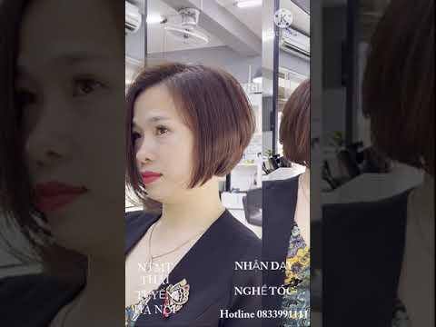 Kiểu tóc ngắn đẹp 2021