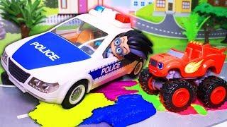 Машинки для мальчиков и другие игрушки. Все серии подряд! Вспыш и Щенячий патруль. Мультики