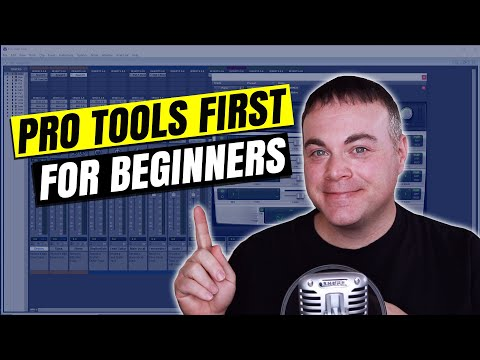 Pro Tools First Tutorial for Beginners
