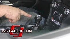 2015-2018 Mustang GT Steeda Short Throw Shifter Race Tri-Ax Manual Transmission Installation