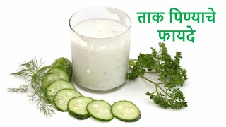 What are the benefits of drinking buttermilk | ताक पिण्याचे फायदे | Health Tips in Marathi