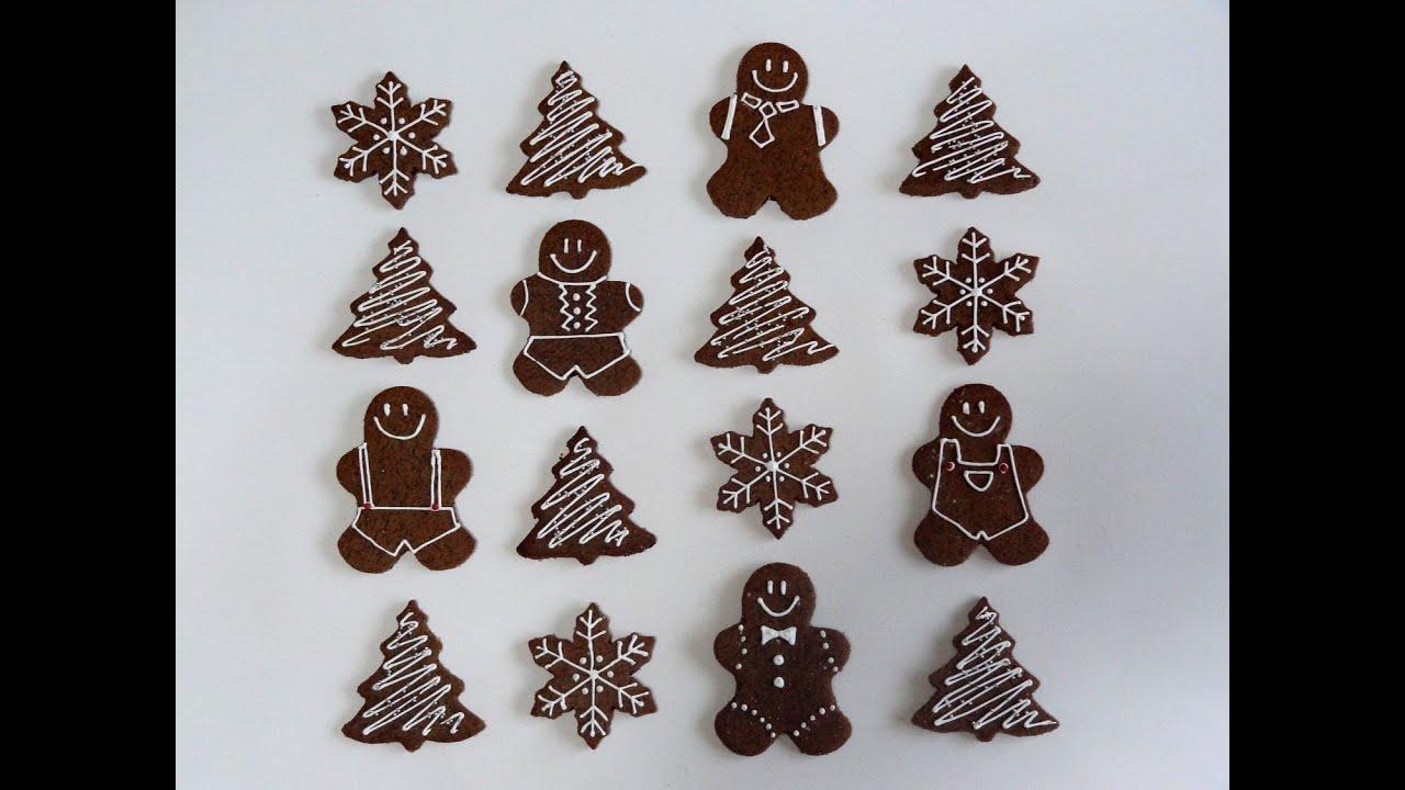 Receta de galletas de jengibre caseras galletas de for Cosas artesanales para navidad