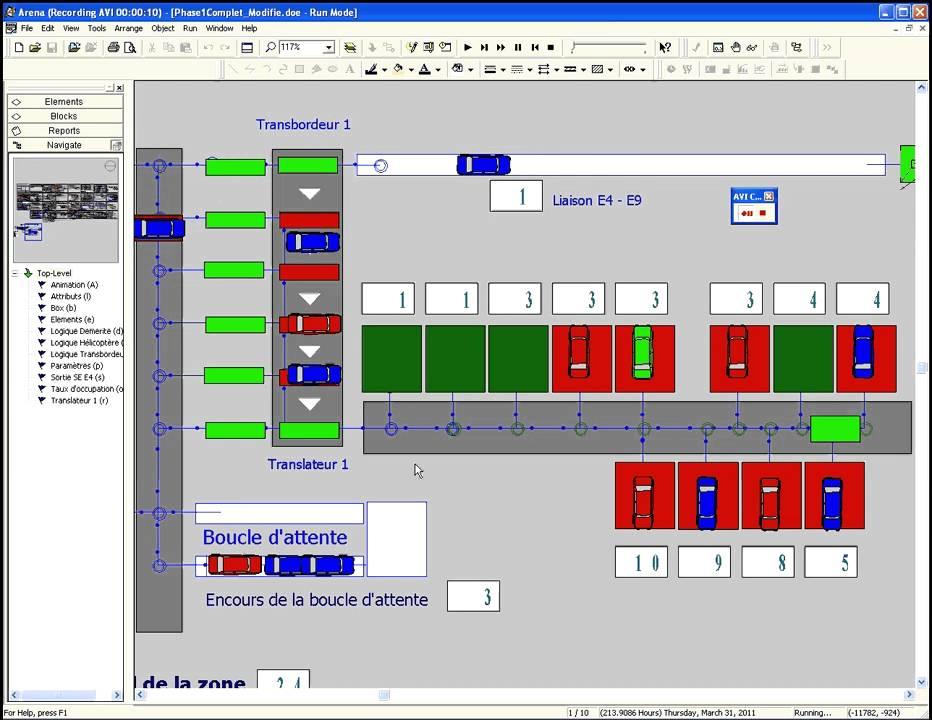 Simulation de flux Arena : Translateurs + Box retouches - YouTube