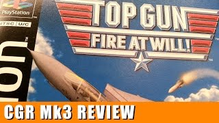 Classic Game Room - TOP GUN: FIRE AT WILL review for PlayStation