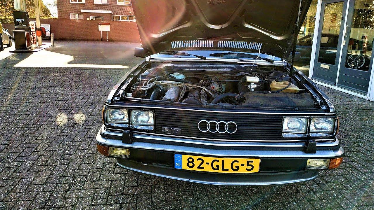 Audi 5000s or 200 turbo 1982 Review & TestDrive - YouTube