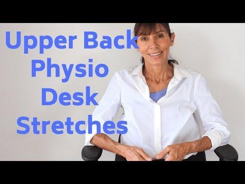 Physio Upper Back Stretch & Relieve Desk Break Routine