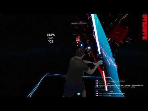 Beat Saber - Everything Black - Darth Maul style - Take you to the Dark Side (of the force) 1 left!