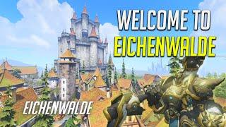 REINHARDTS CASTLE! New Overwatch Map Eichenwalde - [Live Commentary]