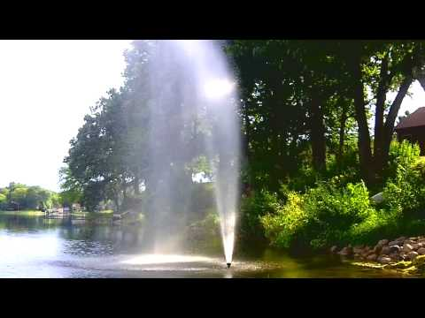 IRRIGATION WATER PUMP fountain for lakes and ponds