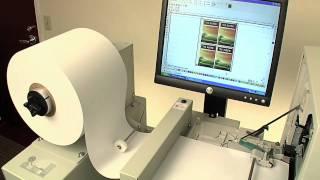 Primera's CX1200 Digital Color Label Press (HD YouTube Version)