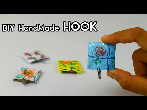 how-to-make-hook-at-home-|-diy-easy-crafts-|-room-decor-hook-|-diy-crafts-life-hack
