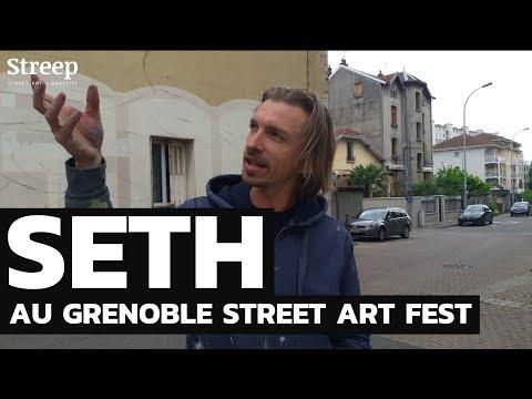 Seth - Julien Malland - au Grenoble Street Art Fest
