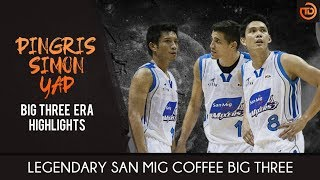 San Mig Coffee Mixers / Magnolia Star Hotshots: Big Three Highlights