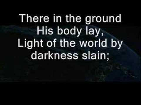 In Christ Alone - song with lyrics for worship