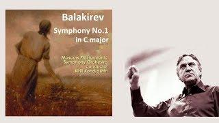 バラキレフ 交響曲 第1番 ハ長調 コンドラシン/モスクワ・フィル Balakirev  Symphony No.1